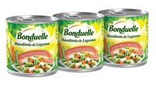 Delizioso mix di verdure macedone in scatola - Bonduelle (3 x 200 g)