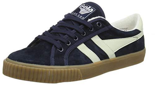 Gola Herren Tennis Mark COX Suede Sneaker, Blue Navy Off White Gum Ew, 42 EU