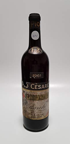 Vintage Bottle - Pio Cesare Barolo Clear Color 1961 0,72 lt. - COD. 1032