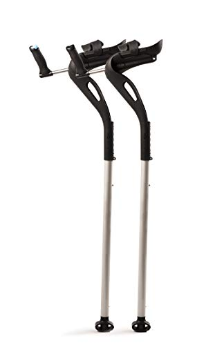M+D Forearm Comfort Crutch by Drive Medical, Pair