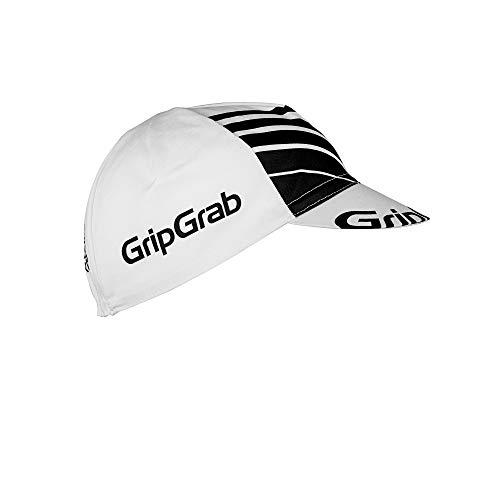 GripGrab Classic Cycling Cap | Retro Radmütze | Radsport Rennrad Unterhelmmütze Fahrrad Kappe Fahrradmütze Unisex Headwear, Weiß, Onesize