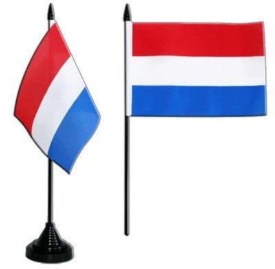Flaggenfritze® Tischflagge Niederlande 10x15 cm