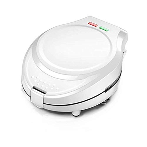 qiuqiu 7-in-1-Waffeleisen Sandwich Toaster Panini Maker, Multifunktions-Kuchenofenpfanne Eggette-Maschine, 800 W, Antihaftplatten, Leicht Zu Reinigende Herausnehmbare Platten-Red