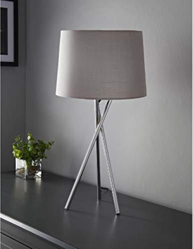 New Stylish Tripod Design Table Lamp Give Your Home,Office,Living Room a Truly Contemporary Look - Grey