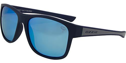 OZZIE sonnenbrille Sport polarisiert schwarz/blau (56:26 P1)