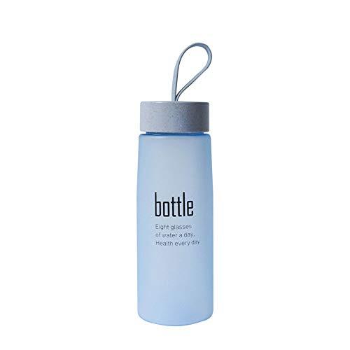URSING Bouteille d'eau de Sport - sans BPA & Anti Fuite, Respectueux de l'environnement, Réutilisable Plastique Bouteilles de Gym pour
