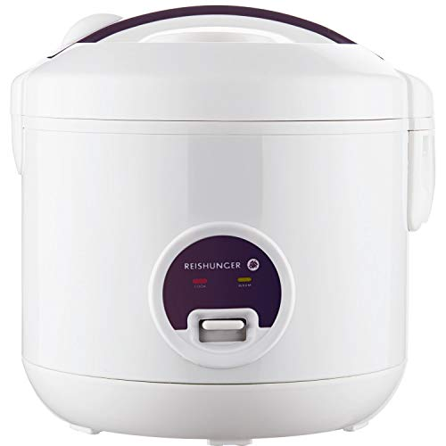 Reishunger Rice Cooker (1.2l/500W/220V) Keep-Warm Function, Premium-Quality...