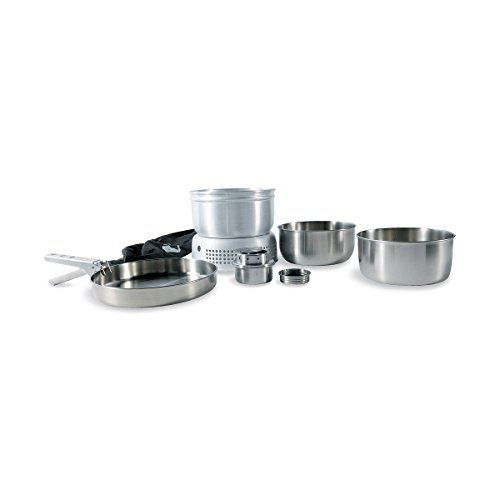 Tatonka Kochset mit Brenner Multi Set Burner, transparent, 21.5 x 10.5 cm