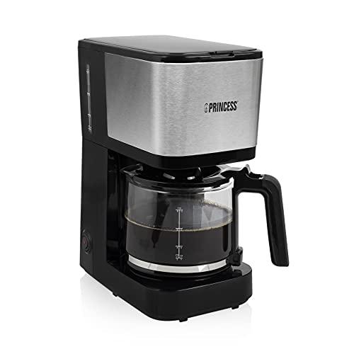 Przelewowy ekspres do kawy Princess 246031 Filter Coffee Maker Compact 12 - pojemność 1.25 litra - 12 filiżanek kawy - 750 W