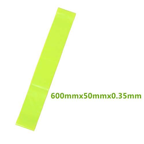 Kunyun Bandas de Resistencia de Yoga 5 Nivel de Entrenamiento de Caucho Cuerda para Deportes Pilates expansor Gimnasio Gimnasio Equipo de Entrenamiento (Color : Green)