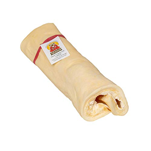 Barking Buddha Original Large Beef Cheek Roll (5 Pack) 10'-12' Super Thick for Dogs