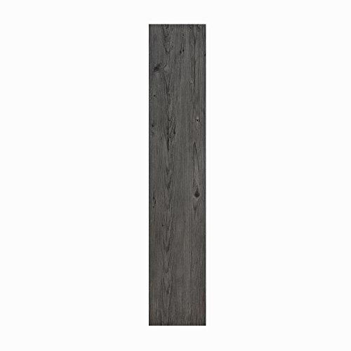Achim Home Furnishings LSLYP10208 Flex Flor Looselay Plank 9in x 48in Smoke-8 Planks/24 sq. ft. Vinyl Flooring