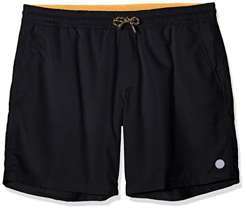 s.Oliver Big Size Herren 28.905.70.5816 Badeshort, Grau (Grey/Black 9897), Herstellergröße: XX-Large