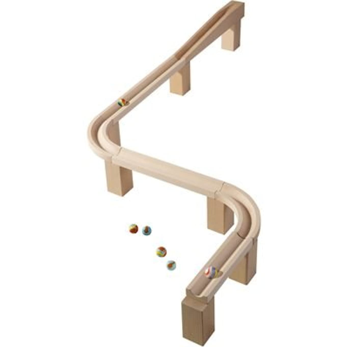 HABA Horizontal Track - Marble Ball track Accessory (Made in Germany) x08258112