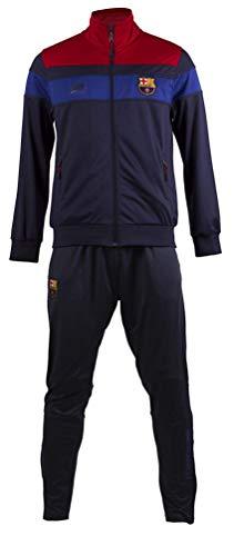 tuta uomo barcellona Tuta Completa FCB Barcellona Adulto Abbigliamento Calcio Barca PS 24322 (XXL