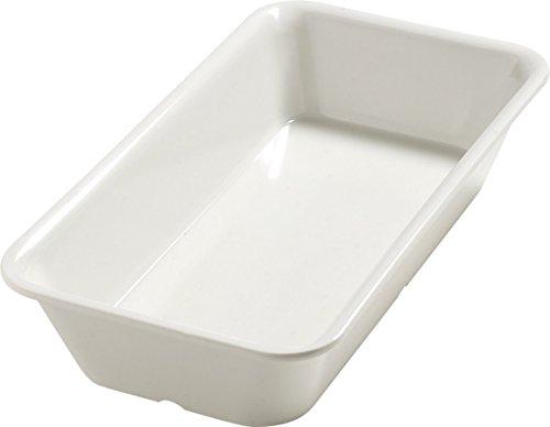Buy Cheap Carlisle 5554037 Balsam Melamine Third-Size Food Pan, 12-3/4 x 6-3/8 x 2-1/2, Bavarian Cr...