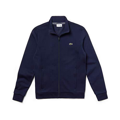 Lacoste - SH7616 - Veste a zippé - Homme -Bleu (Marine 166) - Medium (FR: 4)
