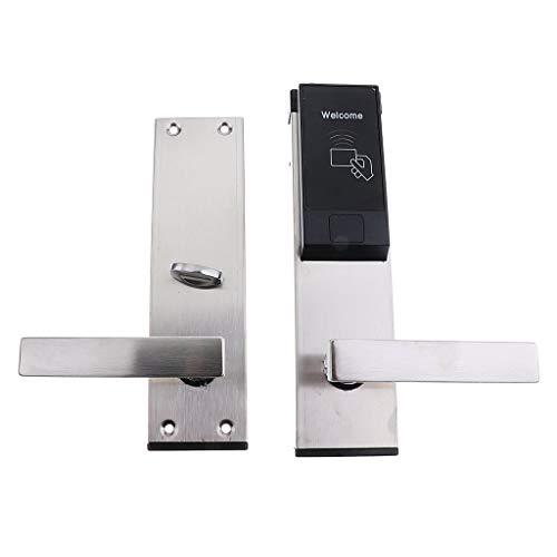 Tubayia Smart - Cerradura electrónica de control de acceso con 3 tarjetas RFID y 2 llaves para...