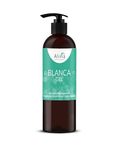 Nuevo Gel de ducha y champú sin parabenos enriquecido con aloe vera y caléndula para el cuidado diario de pieles sensibles y delicadas. 250 ml. Alivia, cosmetica natural para sentirse bien.