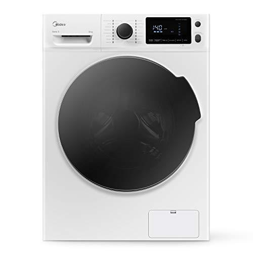 Waschmaschine Midea W 5.840  / 8 kg Fassungsvermögen / Energieeffizienzklasse A+++ / Reload - Nachlegefunktion  / 1400 U/min[Energieklasse A+++]