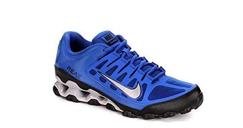 Nike Men's Reax 8 TR MESH Training Shoe, (14 D(M) US, Blue/Black/Gray)