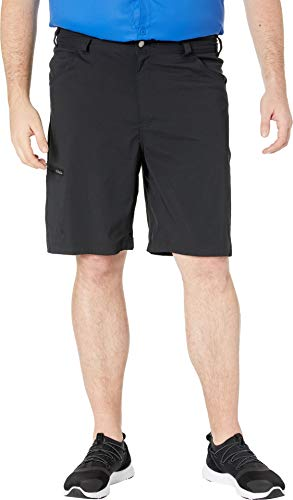 Columbia Silver Ridge II Short Stretch pour Homme Protection Solaire UPF 50 Silver Ridge II Stretch Short, Homme, 1839322, Noir fumé, 44x10