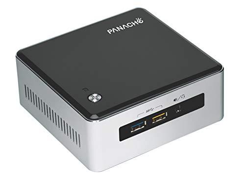 Panache Mini PC - PDNUCRC with Intel Core i3 CPU, 4GB RAM, 256GB SSD, WiFi, BT, and Licensed Windows 10 Home SL