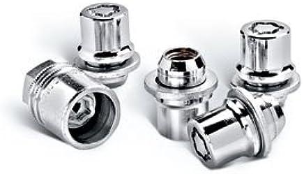 12x1.25 Chrome Lug Nut /& Wheel Lock Combo Scion FR-S Toyota 86 FRS Subaru BRZ