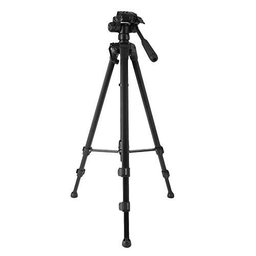 Bubbry Professionele statief 360 graden draaibare kop voor DSLR-camera-camcorder