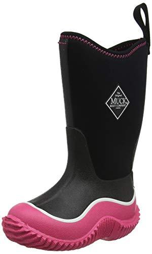 Muck Boots Unisex-Kinder Hale Gummistiefel, Pink (Black/pink), 25 EU