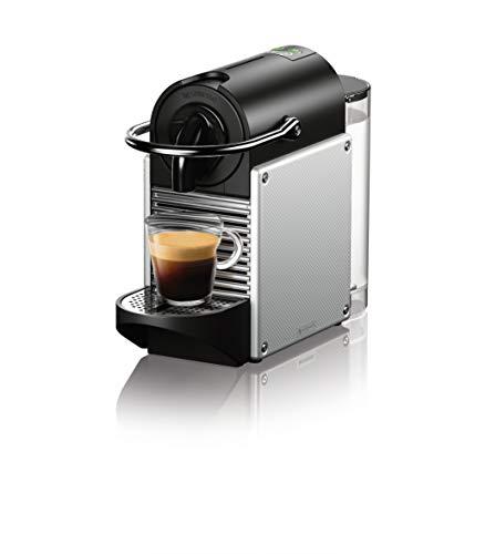 Nespresso Pixie Coffee and Espresso Machine by DeLonghi, Aluminum