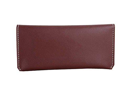 Wein ROTER Handarbeit Besondere Wallet Handtaschen einfache Art-Wallet