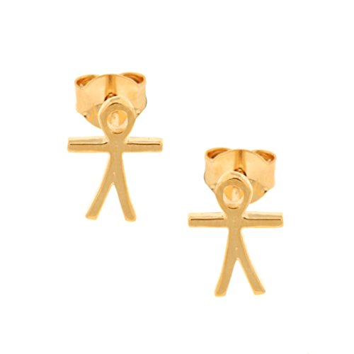 Bijoux pour tous 1200634 - Pendientes para mujer (latón)