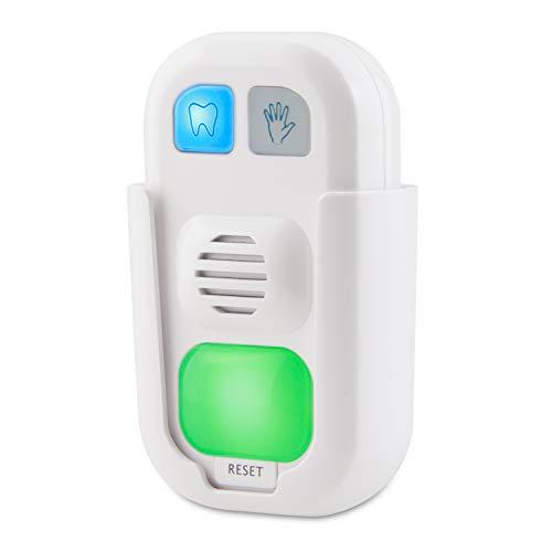 HONWELL Musik-Timer mit LED-Farblicht, Batteriebetriebener Zahnputz-Timer und Handwasch-Timer 12 Songs, 3 Lautstärkeoptionen Musikalischer Timer für Kindertrainer