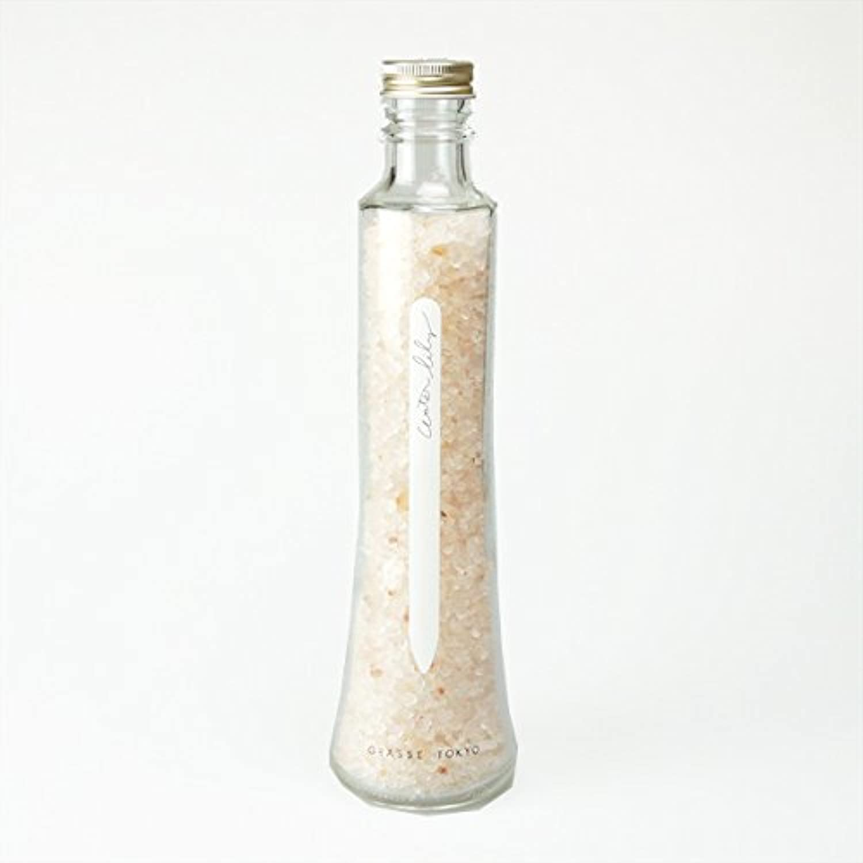 グラーストウキョウ フレグランスソルト(浴用、12回分ボトル) Water lily 360g