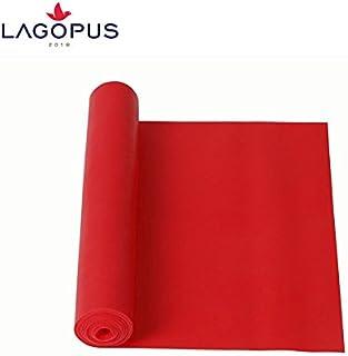 New 2PCS Elastic Resistance Loop Bands Exercise Yoga Fitness Gym Training Tube Yellow