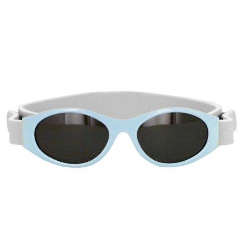 Sunshine Lunette Solaire Bandeau Ajustable Bleu 0-12 Mois