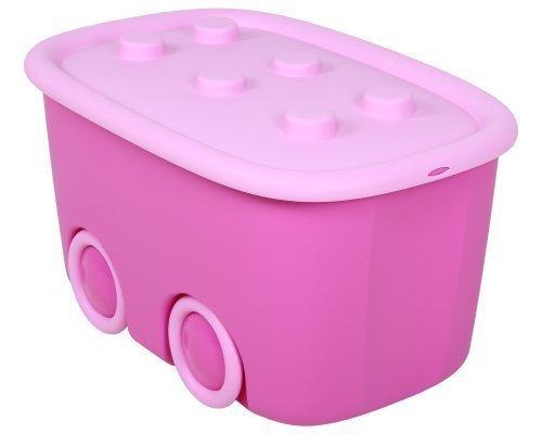 Aufbewahrungsbox Spielzeugbox Funny, flieder