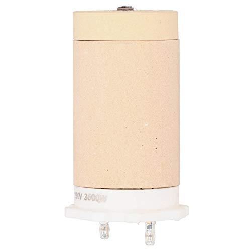 zhuolong Elementos calefactores Tubo Calefactor de cerámica Elementos calefactores centrales Partes del Calentador aptas para Leister 230V/3600W 101.767 9.5x4.7x4.7cm/3.7x1.9x1.9in