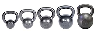 Ader Premier Kettlebell Set w/ Dvd- (10, 20, 30, 40, 50lb) by Ader Sporting Goods