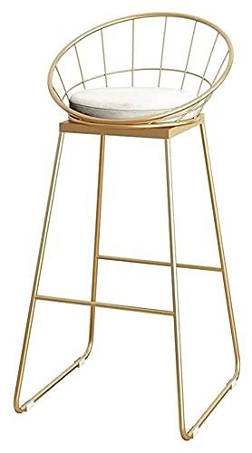 Silla de taburete de taburete de taburete de heces de taburete de taburete de la cocina de la cocina para el asiento Silla de asiento Desayuno Comedor Taburetes Taburetes de café Contrarrestar Taburet