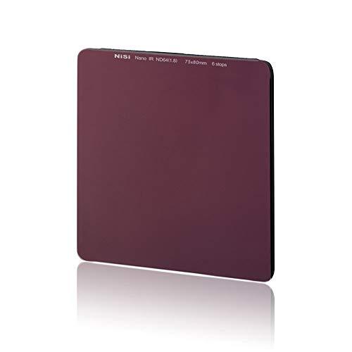 NiSi Neutral-Graufilter 75x80mm IR ND64 1.8 (6-Blenden)