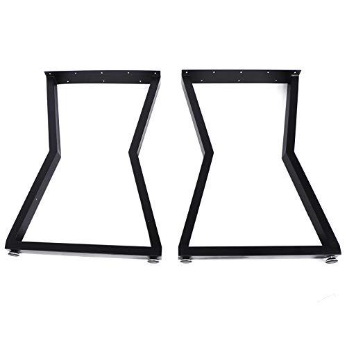 Patas de mesa, 2 piezas de patas de muebles de alta resistencia industrial para comedor, patas de mesa de acero para bricolaje, muebles de oficina