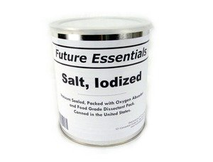 1 Can of Future Max 49% OFF Essentials Iodized Net Salt #2.5 Weig Wholesale 2lbs
