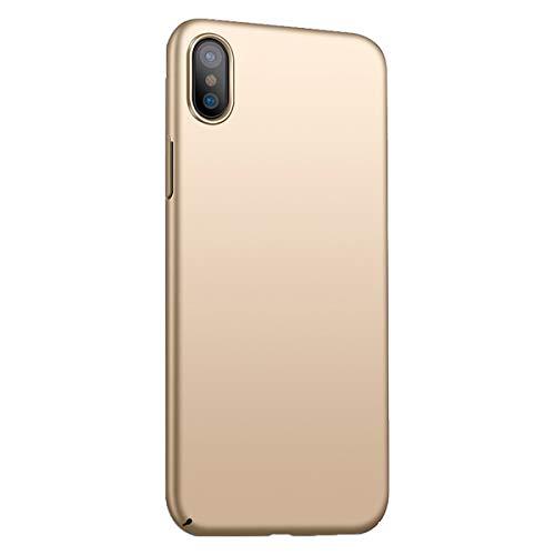 Funda iPhone X/XS/XS MAX Ultra Fina Case Ligera Flexible PC Protección Cáscara...