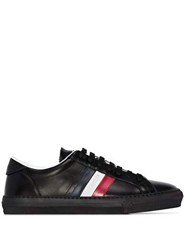 Moncler Luxury Fashion Herren 4M7144001A9A999 Schwarz Leder Sneakers   Herbst Winter 20