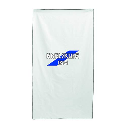 Tipolitografia Ghisleri Handtuch, Strandtuch Handtuch weiß Flagge Karlsruhe 70 x 140 cm