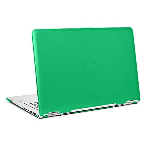 mCover iPearl Hard Shell Case for 15.6' HP Envy X360 15-AQxxx / M6-AQxxx Series (15-AQ173cl / m6-AQ103dx, etc) Convertible laptops (X360-15-AQ Green)