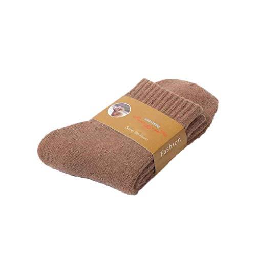 Guangcailun d'hiver d'homme Chaussettes pour Hommes est épais en Laine et Cachemire Sport Chaussettes Hommes Hivernales Chaussettes Solides