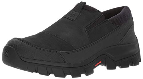 Salomon Men's Snowclog Snow Shoes, Black/Black/Black, 10.5 M US